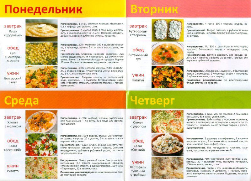 Вкусные полезные рецепты при диете 5